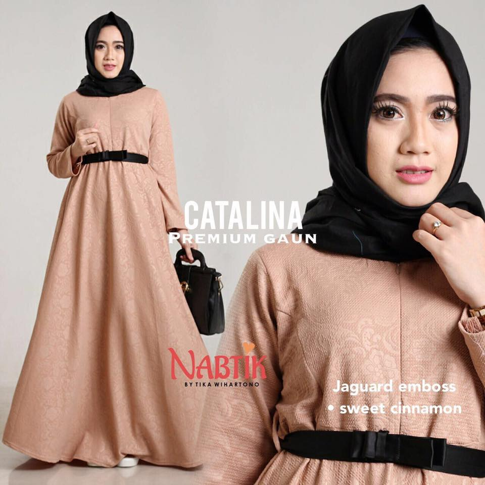 Dress Catalina premium Gown By Nabtik 6