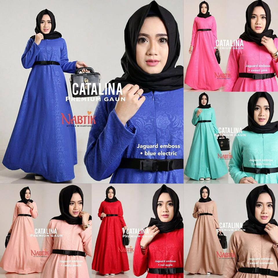 Dress Catalina premium Gown By Nabtik 7