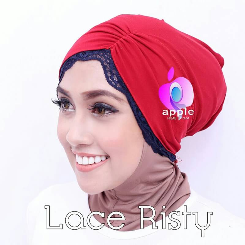 Inner Lace Risty By Apple Hijab 1