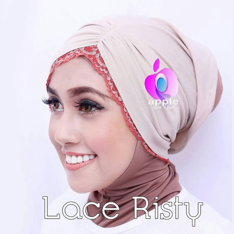 Inner Lace Risty By Apple Hijab 10