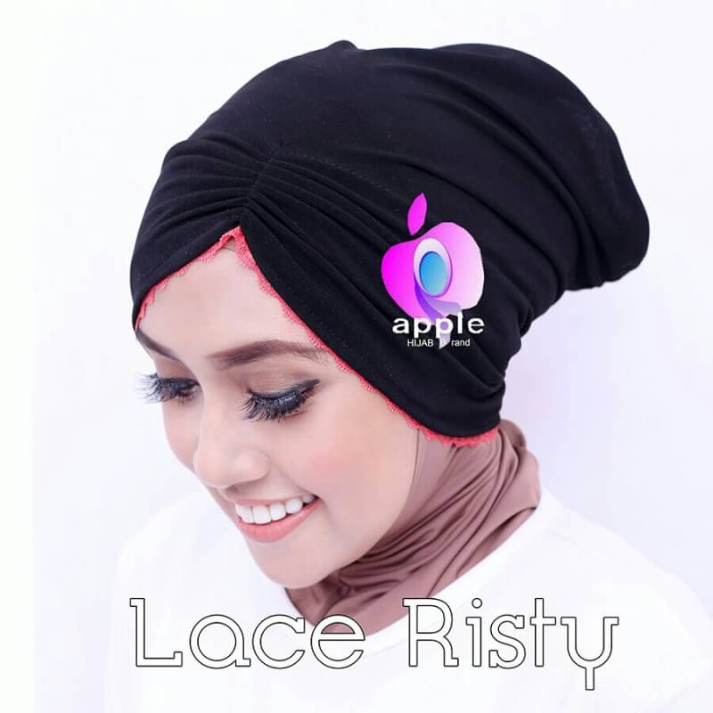 Inner Lace Risty By Apple Hijab 3