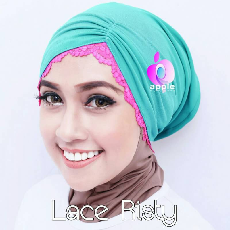 Inner Lace Risty By Apple Hijab 4