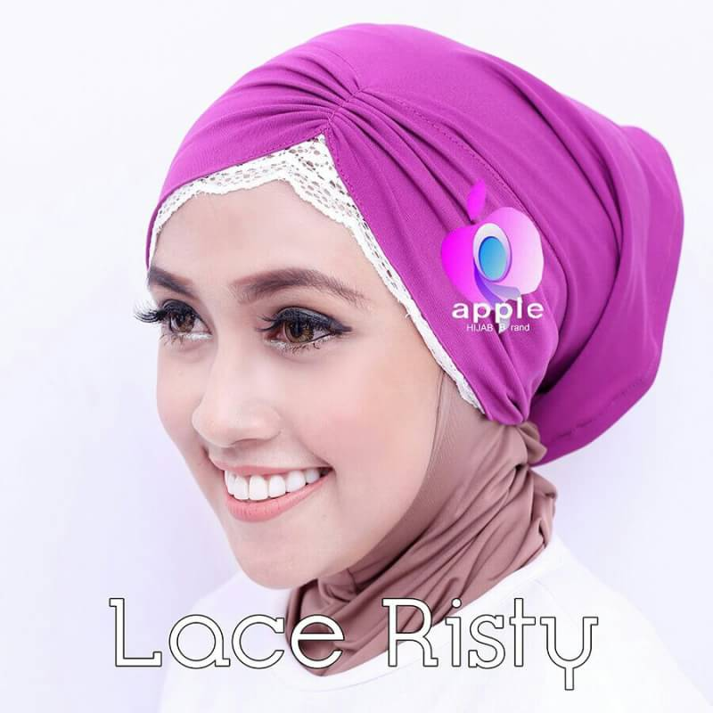 Inner Lace Risty By Apple Hijab 5