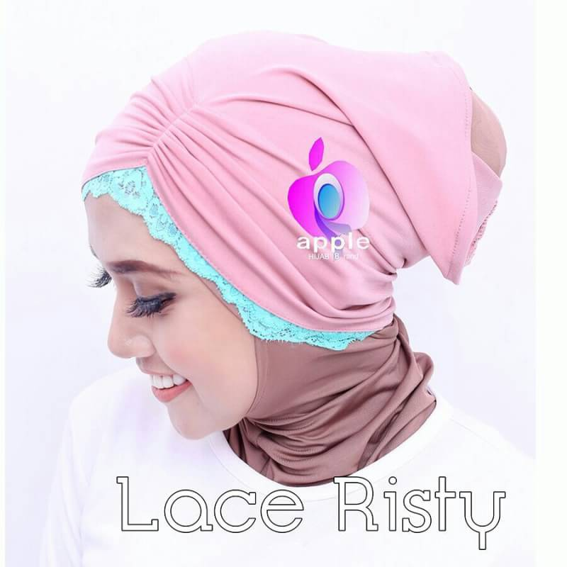 Inner Lace Risty By Apple Hijab 7