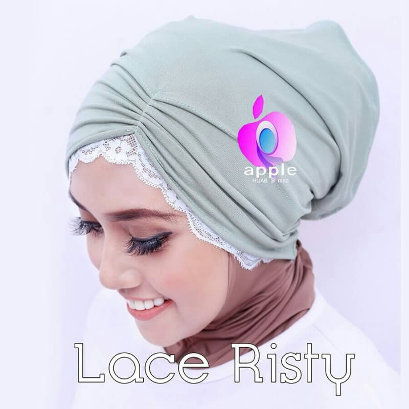Inner Lace Risty By Apple Hijab 8