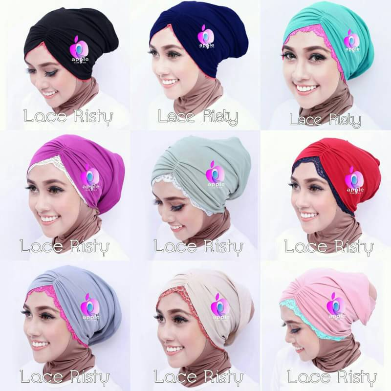 Inner Lace Risty By Apple Hijab 9