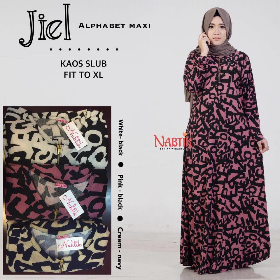 Jiel Alfabet Dress By Nabtik 1