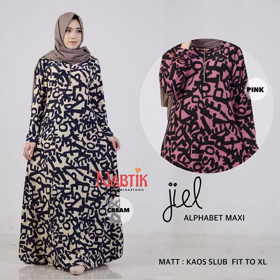 Jiel Alfabet Dress By Nabtik 2