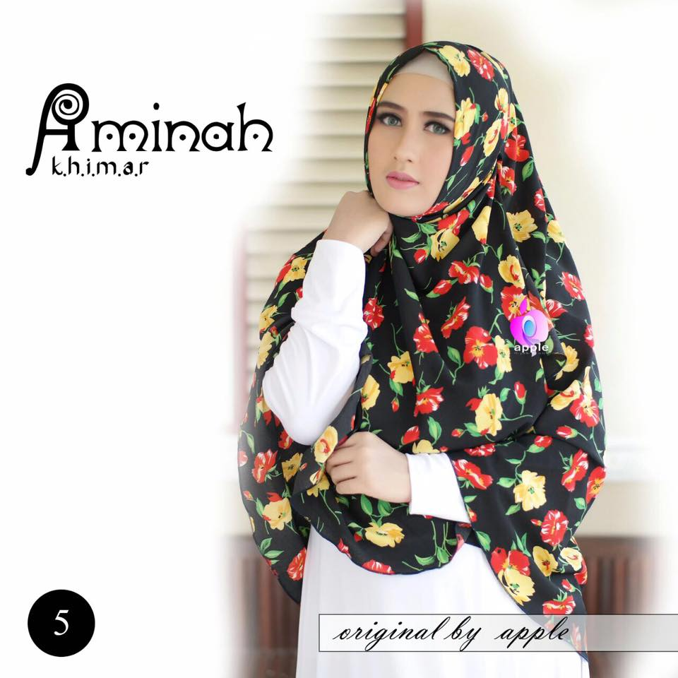 Khimar Aminah by Apple Hijab 1