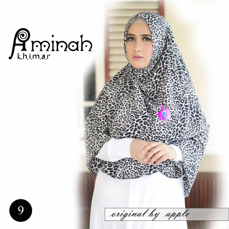 Khimar Aminah by Apple Hijab 10