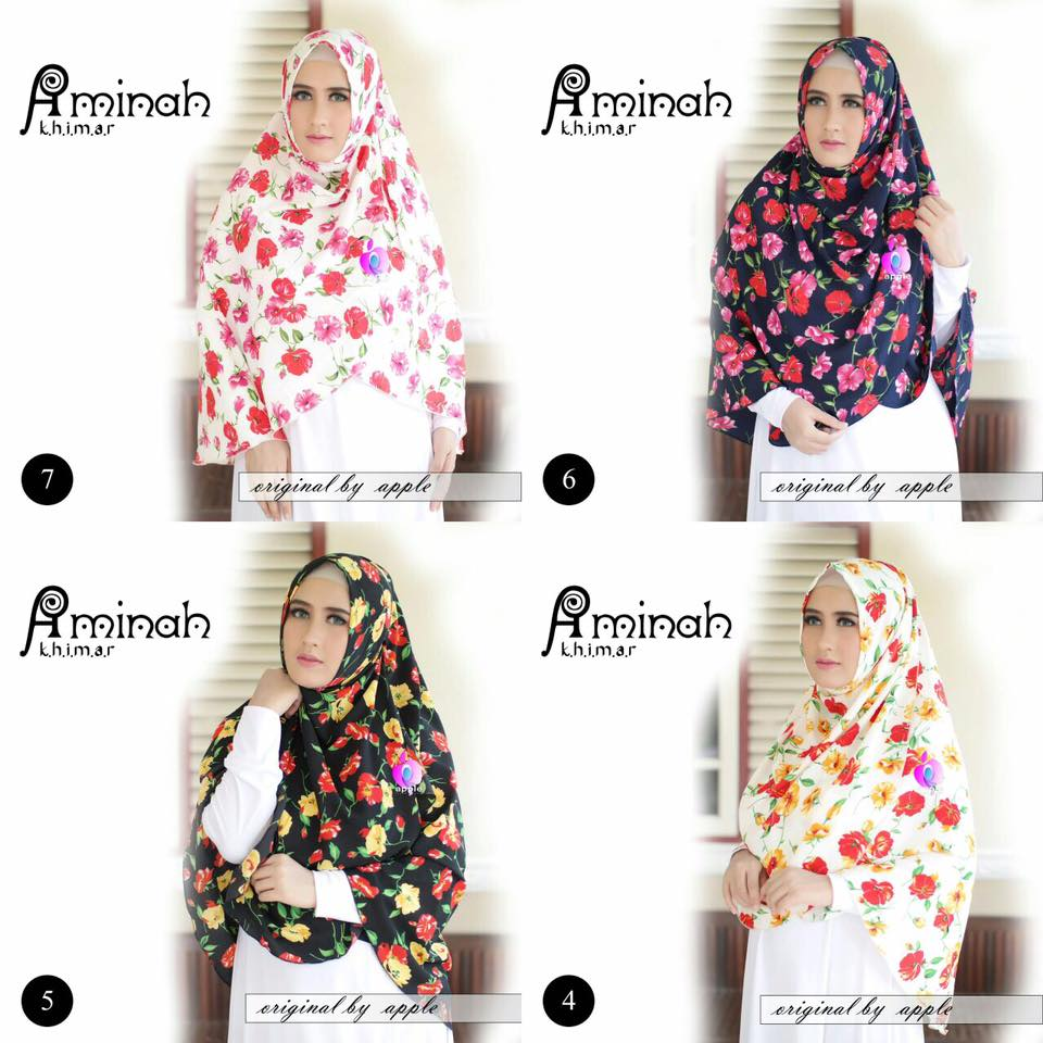 Khimar Aminah by Apple Hijab 11