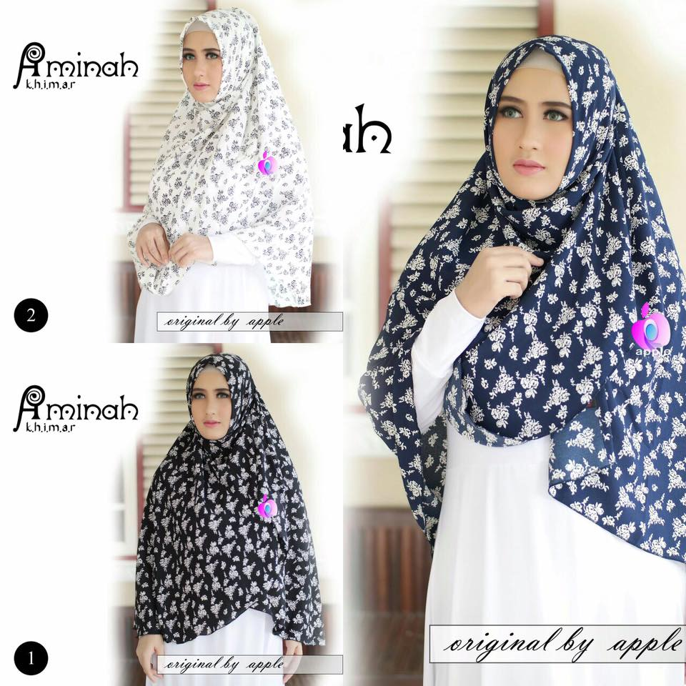 Khimar Aminah by Apple Hijab 12