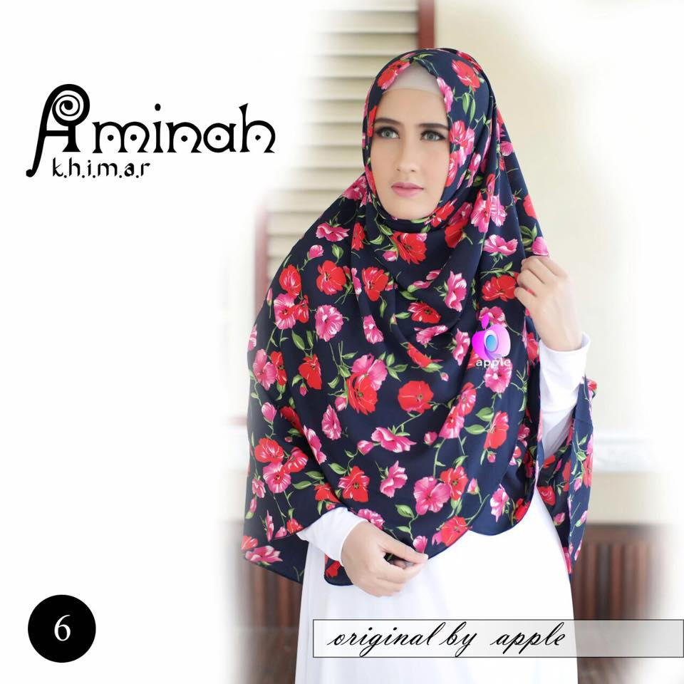 Khimar Aminah by Apple Hijab 2