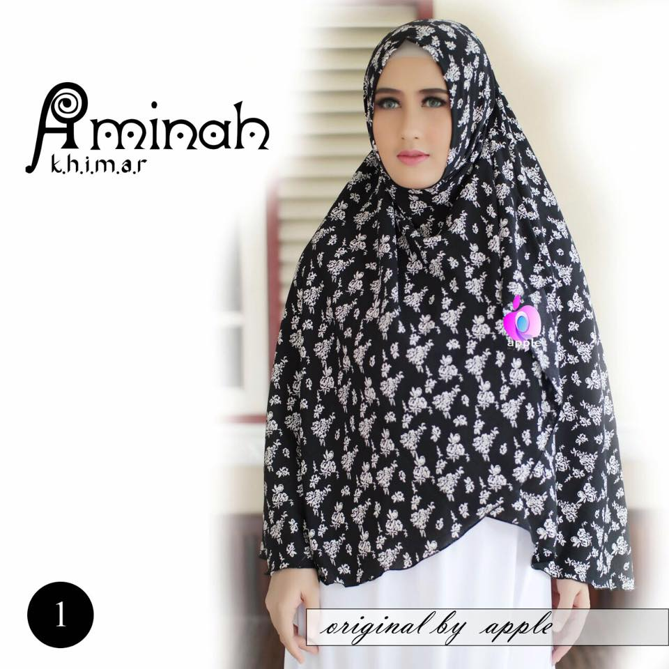 Khimar Aminah by Apple Hijab 3