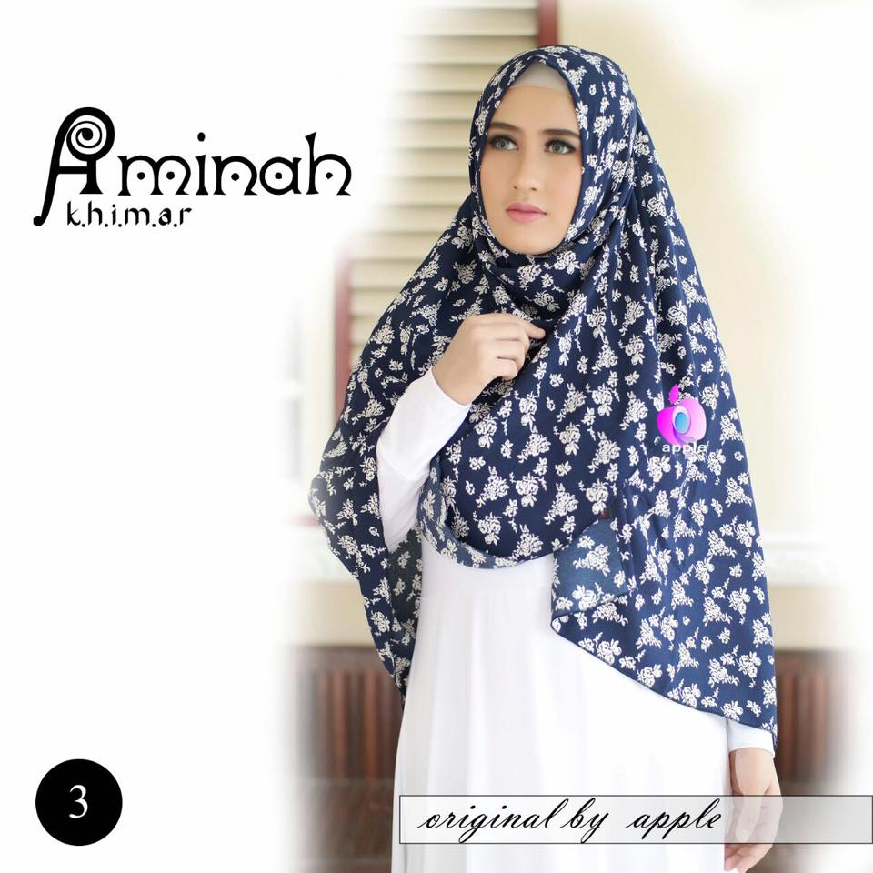 Khimar Aminah by Apple Hijab 4