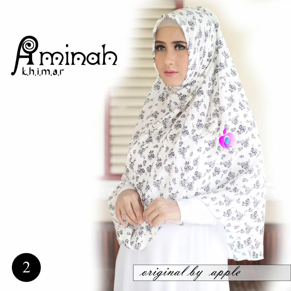 Khimar Aminah by Apple Hijab 5