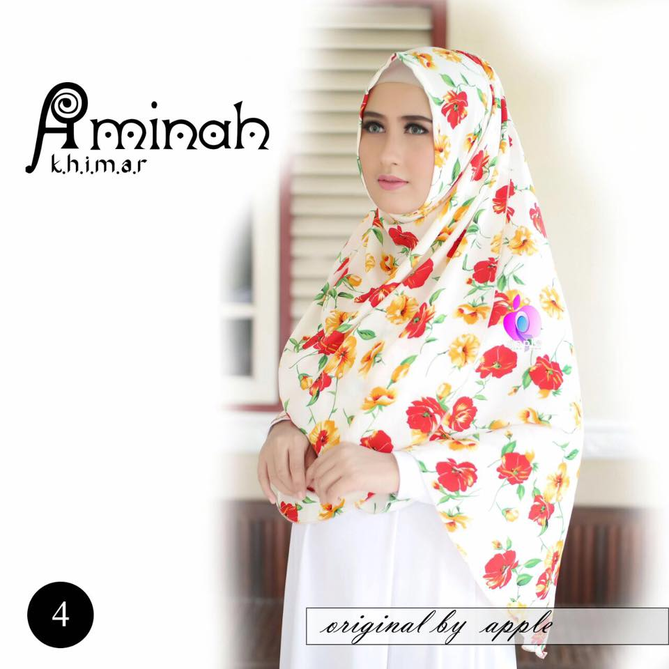 Khimar Aminah by Apple Hijab 6
