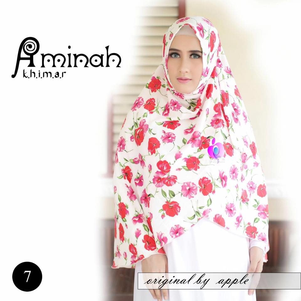 Khimar Aminah by Apple Hijab 7