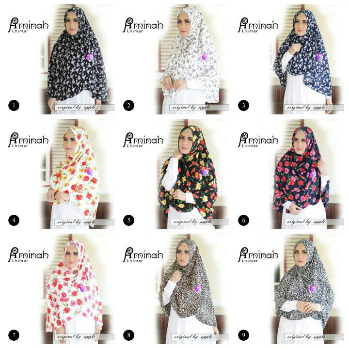 Khimar Aminah by Apple Hijab 8