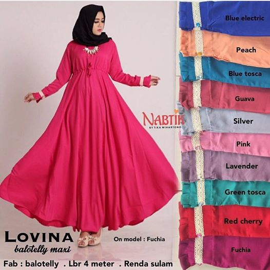 lovina dress by nabtik