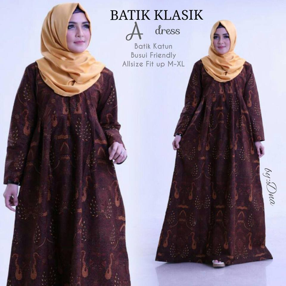 Dress Batik Klasik by Dna 4