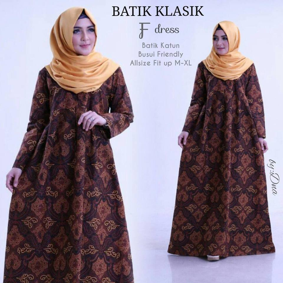 Dress Batik Klasik by Dna 5