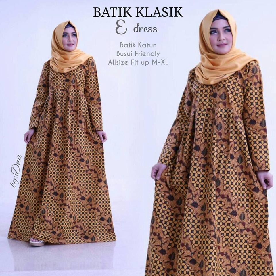 Dress Batik Klasik by Dna 6
