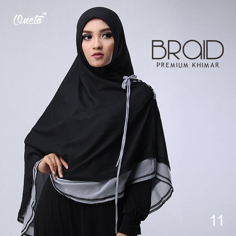 Khimar Braid by Oneto 1