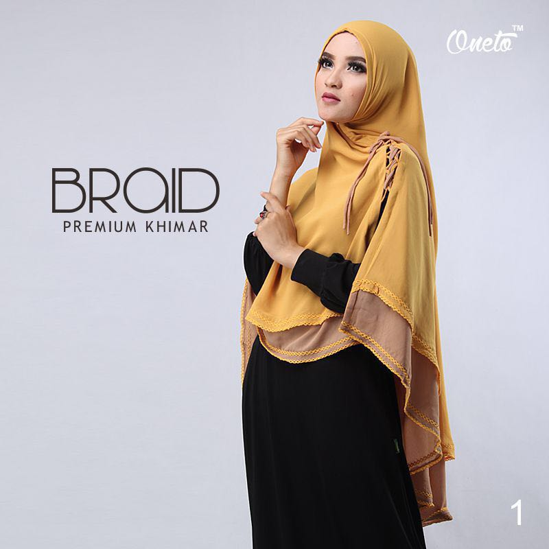Khimar Braid by Oneto 2
