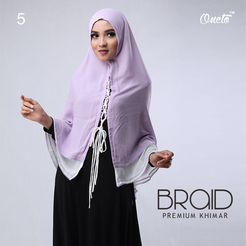 Khimar Braid by Oneto 5