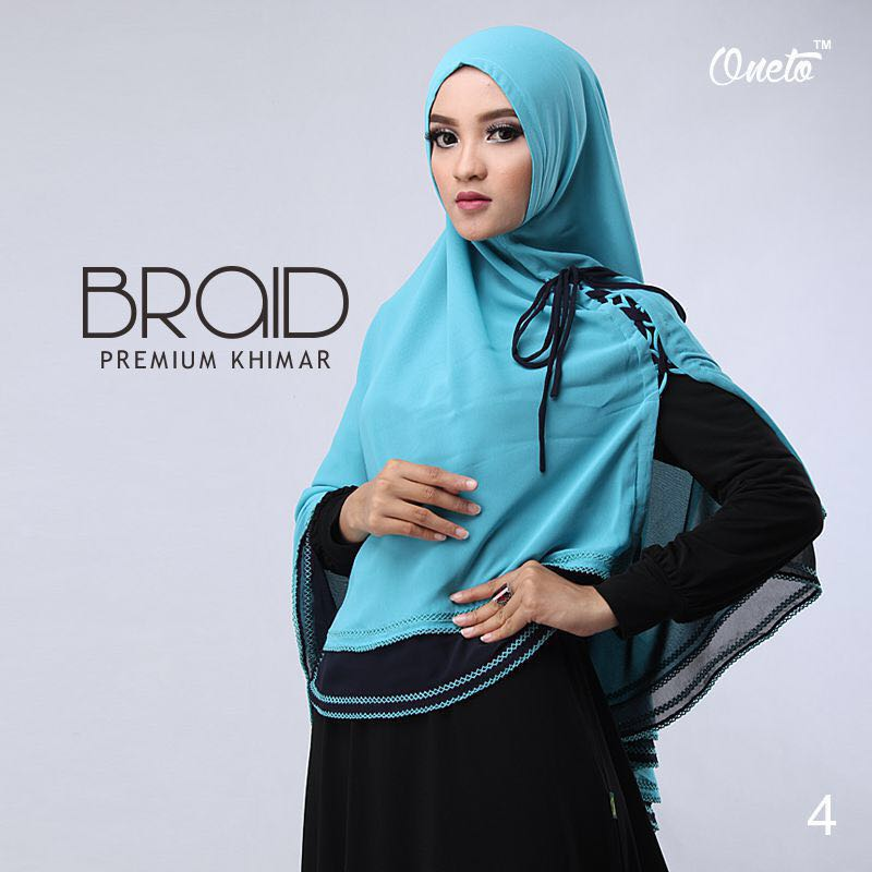 Khimar Braid by Oneto 6