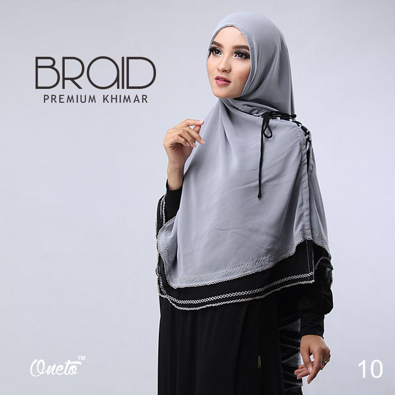 Khimar Braid by Oneto 8