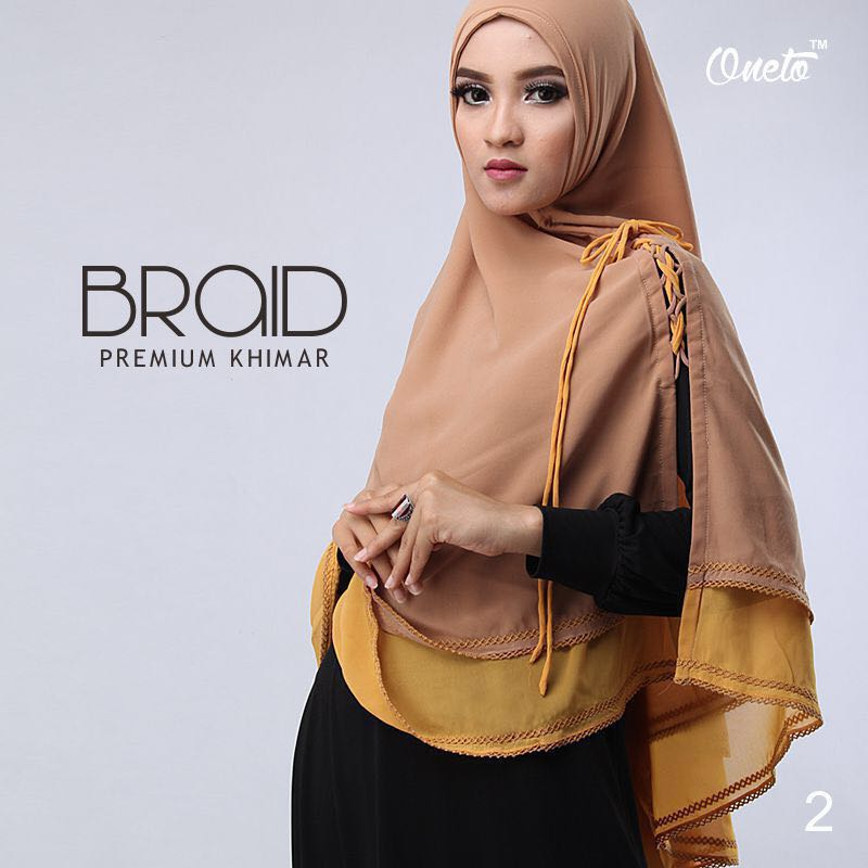 Khimar Braid by Oneto 9