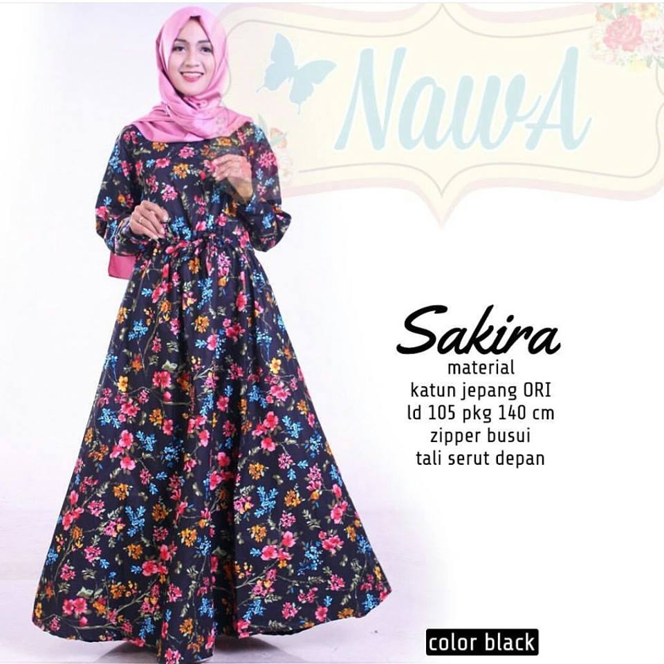 Sakira dress by nawa 1