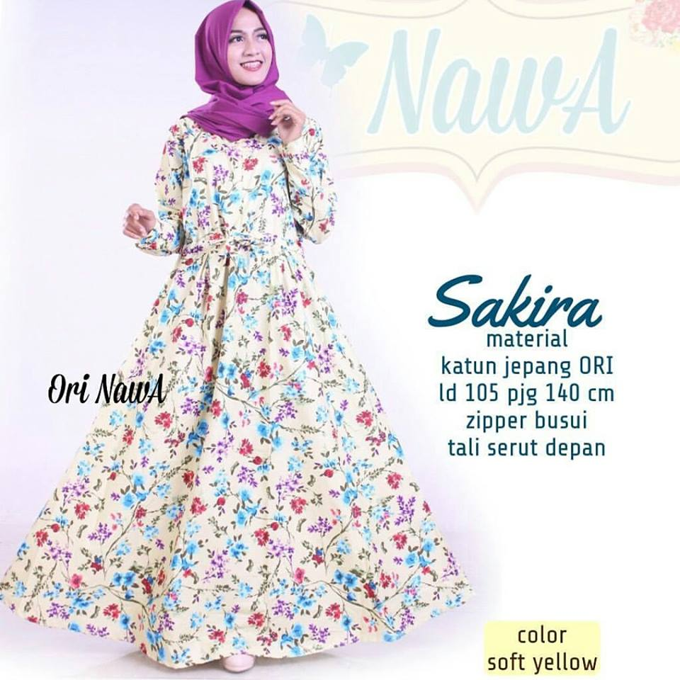 Sakira dress by nawa 2