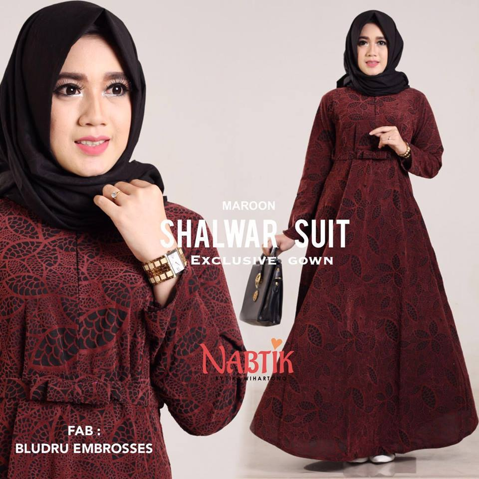 dress shalwar suit by nabtik 2