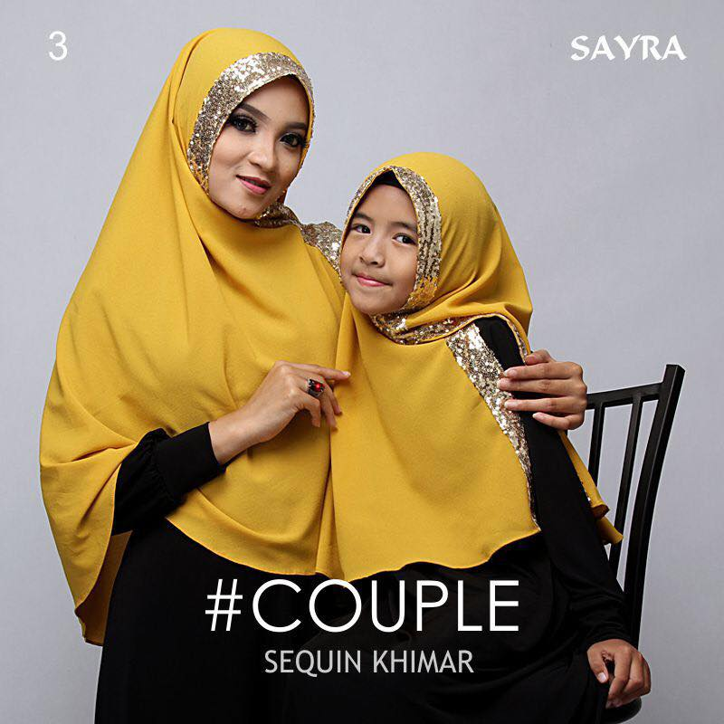 khimar Couple Squin by Sayra 1