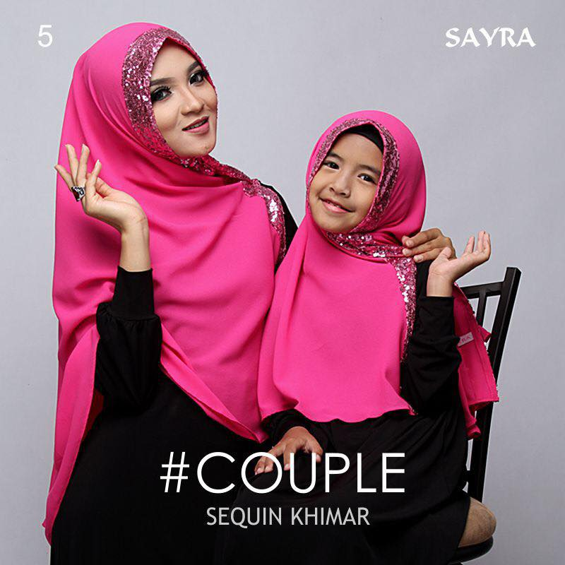khimar Couple Squin by Sayra 3
