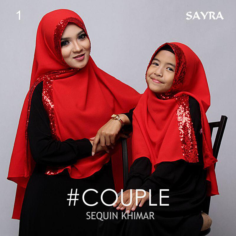 khimar Couple Squin by Sayra 5