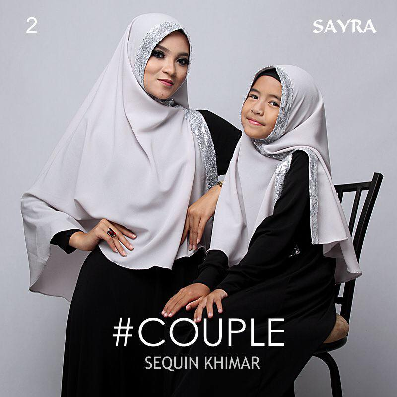 khimar Couple Squin by Sayra 6