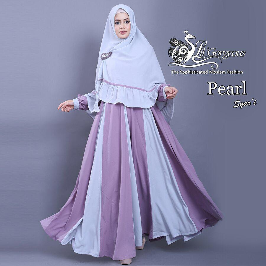 set pearl syar'i by Lil Gorgeous 1