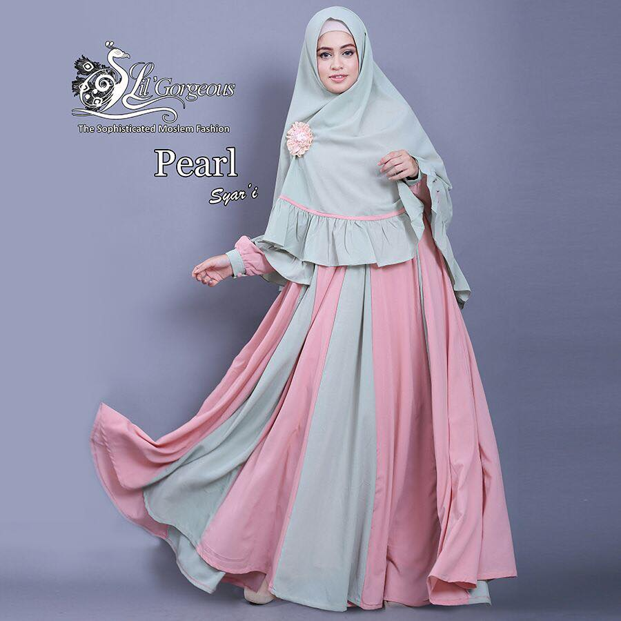set pearl syar'i by Lil Gorgeous 2