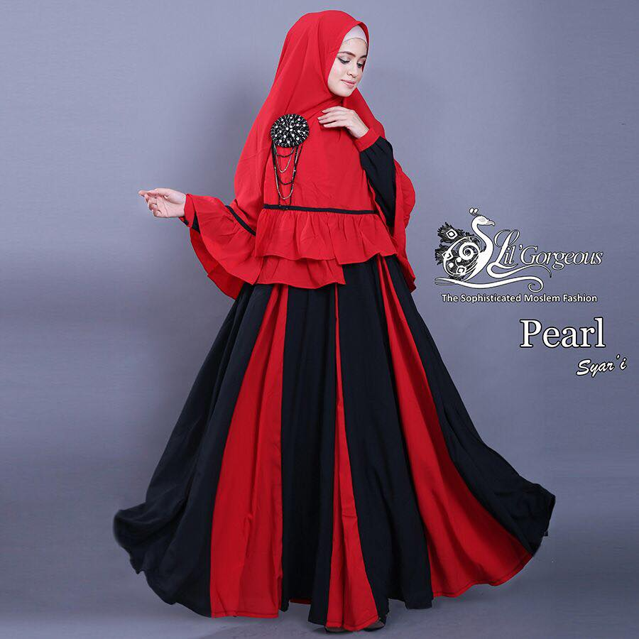 set pearl syar'i by Lil Gorgeous 3