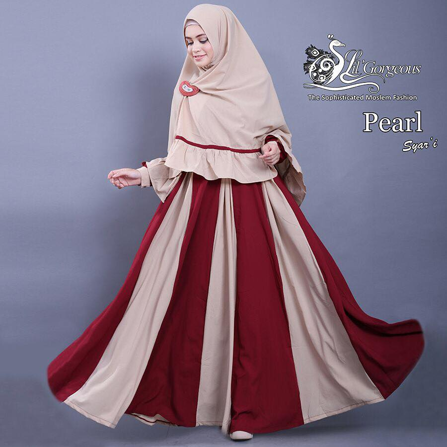 set pearl syar'i by Lil Gorgeous 4