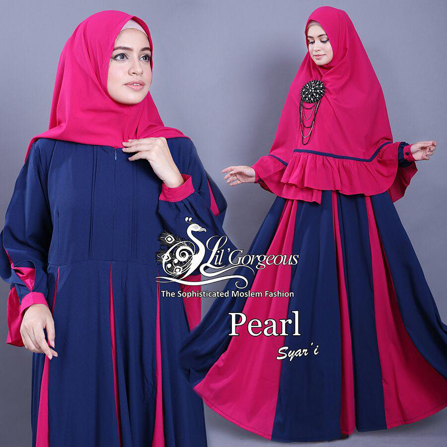 set pearl syar'i by Lil Gorgeous 5
