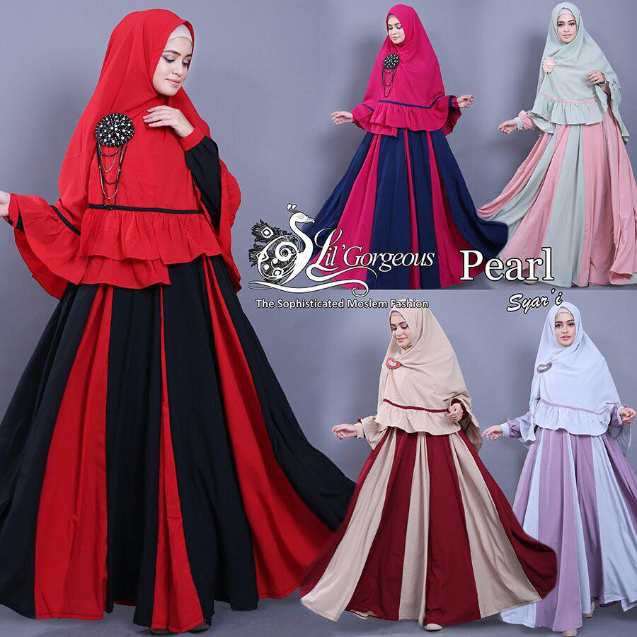 set pearl syar'i by Lil Gorgeous 6