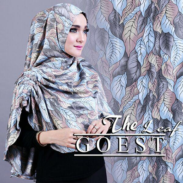 The leaf khimar by goest abu