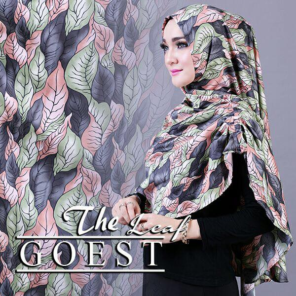The leaf khimar by goest hitam