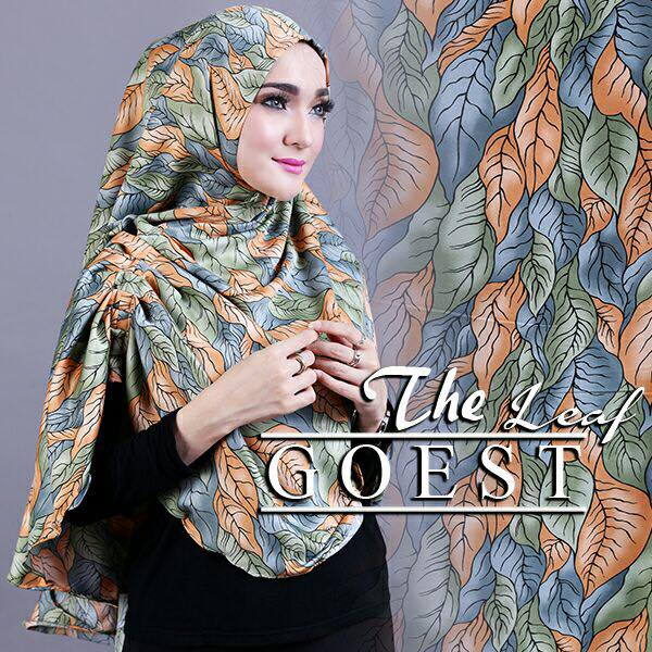 The leaf khimar by goest ijo