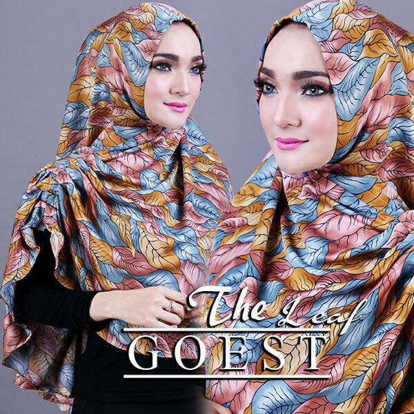 The leaf khimar by goest kuning